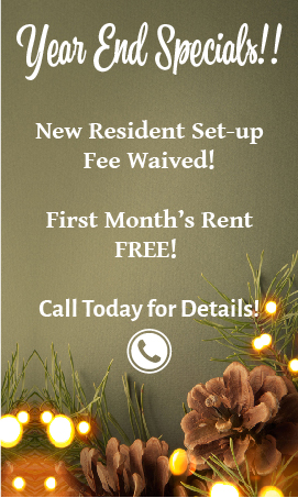 2018 Retirement Living Special Offers